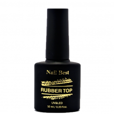 Топ с л.с. Nail Best RUBBER 10 мл.